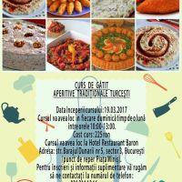 Curs de gatit - aperitive traditionale turcesti